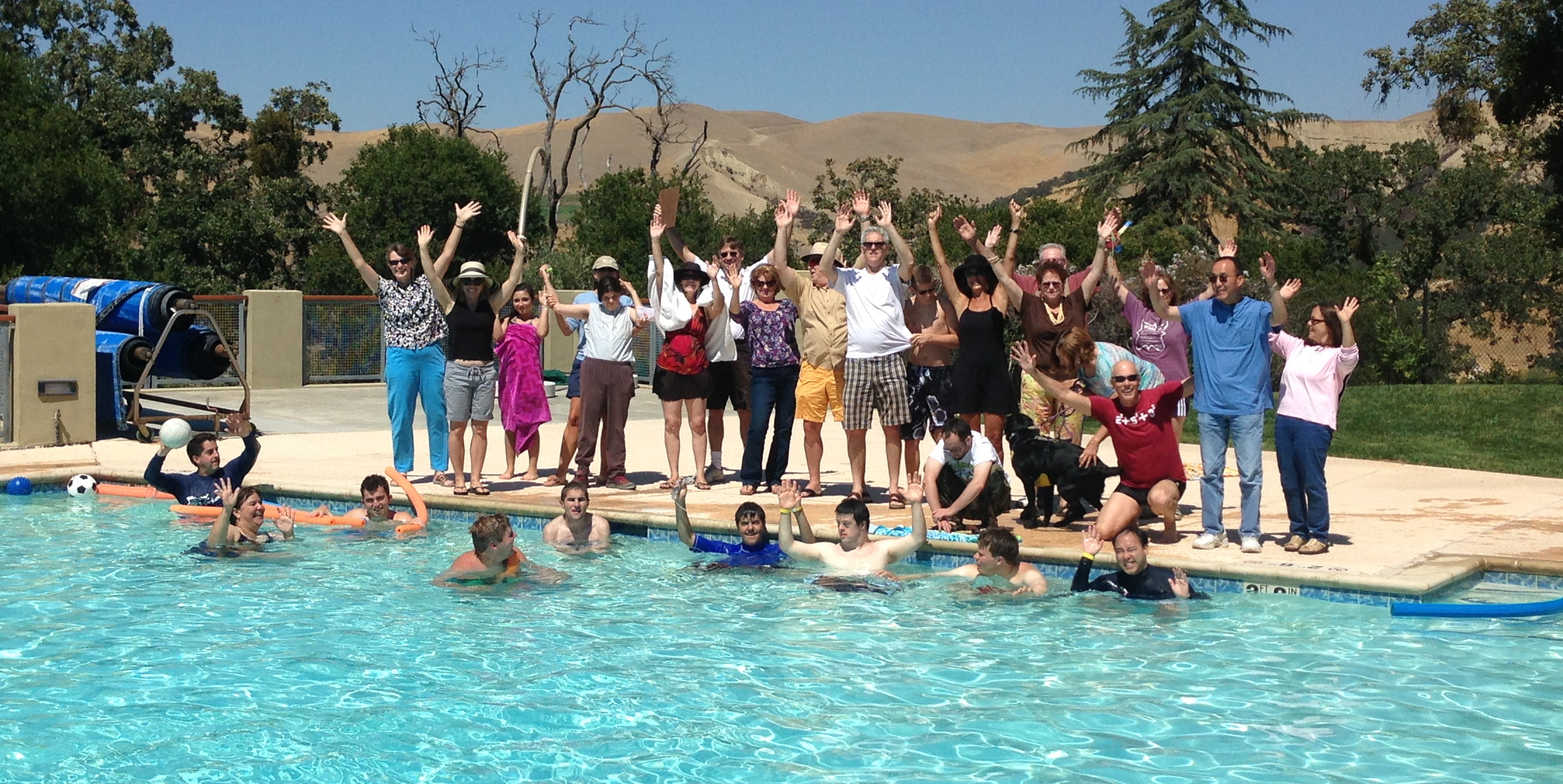 Great Fun At Camp Arroyo Pool Event Sunflower Hill