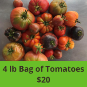 Sunflower Hill Products 4 lb Bag of Heirloom Tomatoes